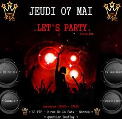 La soirée LET'S PARTY