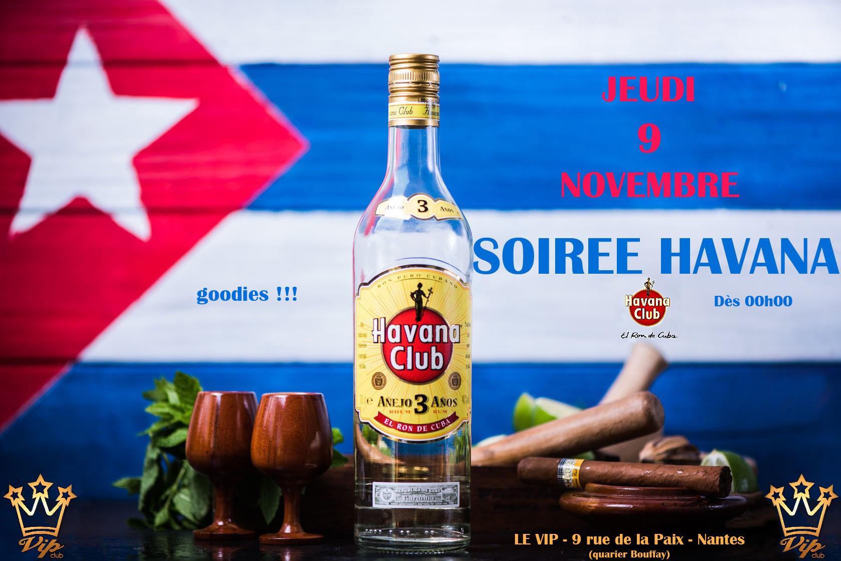 Soirée Havana 09 11 17