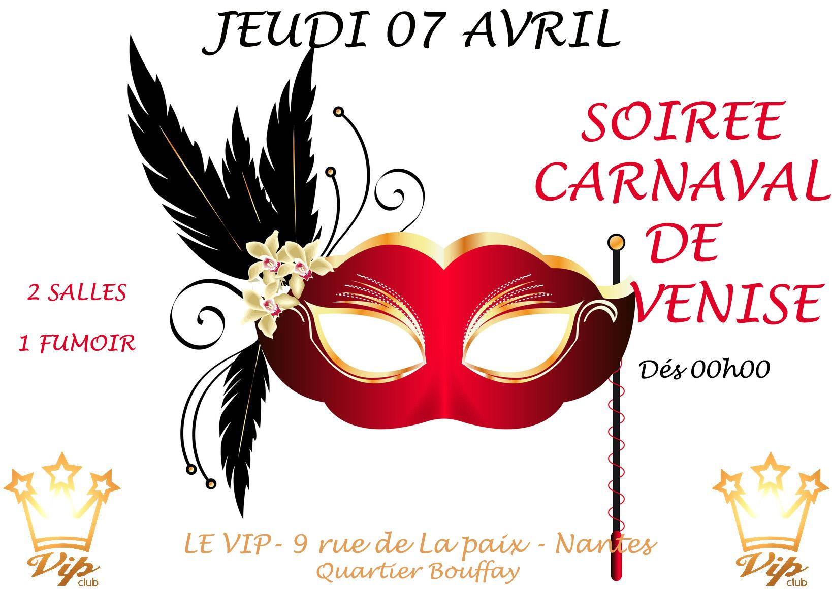 La Soirée Carnaval de Venise