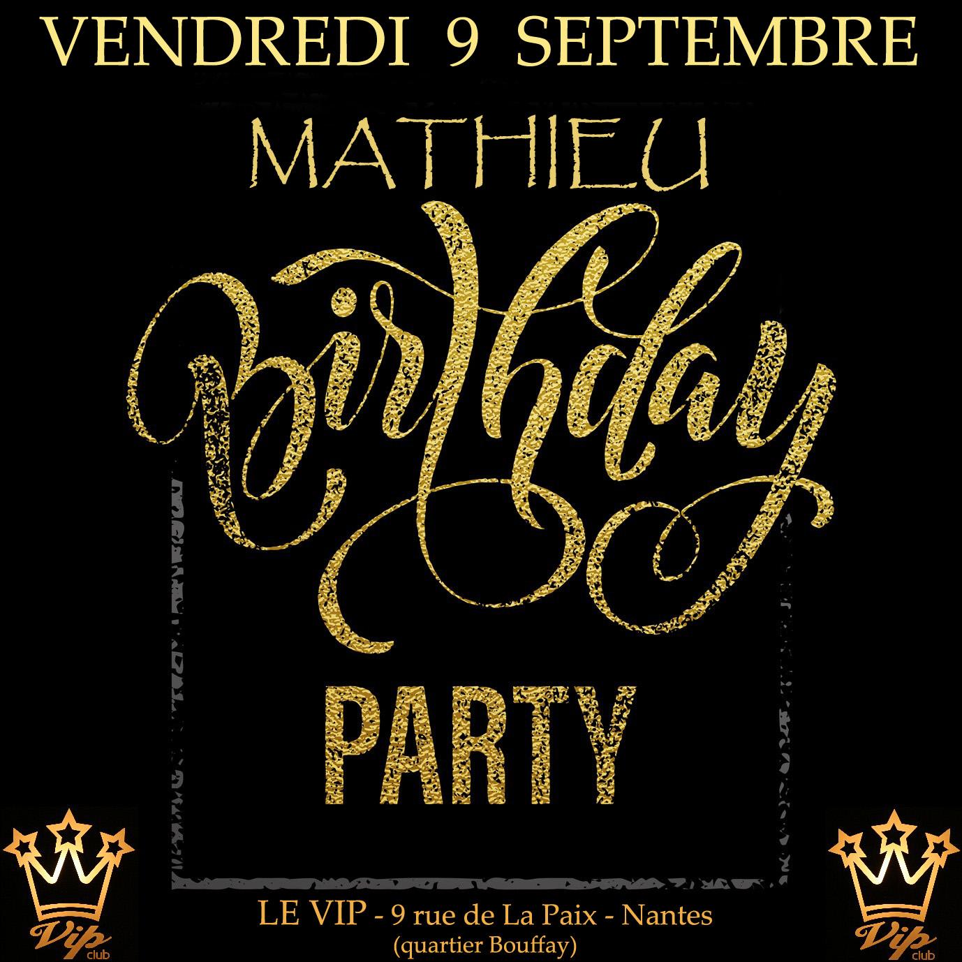Mathieu Birthday Party