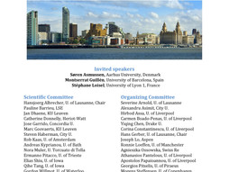 19th Congress on Insurance Mathematics and Economics - Liverpool, UK