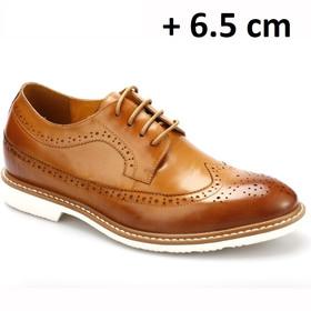 Chamaripa verhogende schoenen Herenschoenen met hoge hak