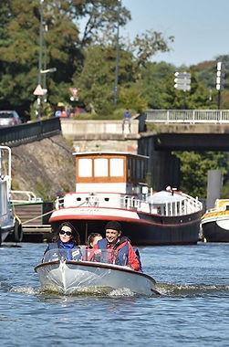 Naeco balade bateau sur l'Erdre