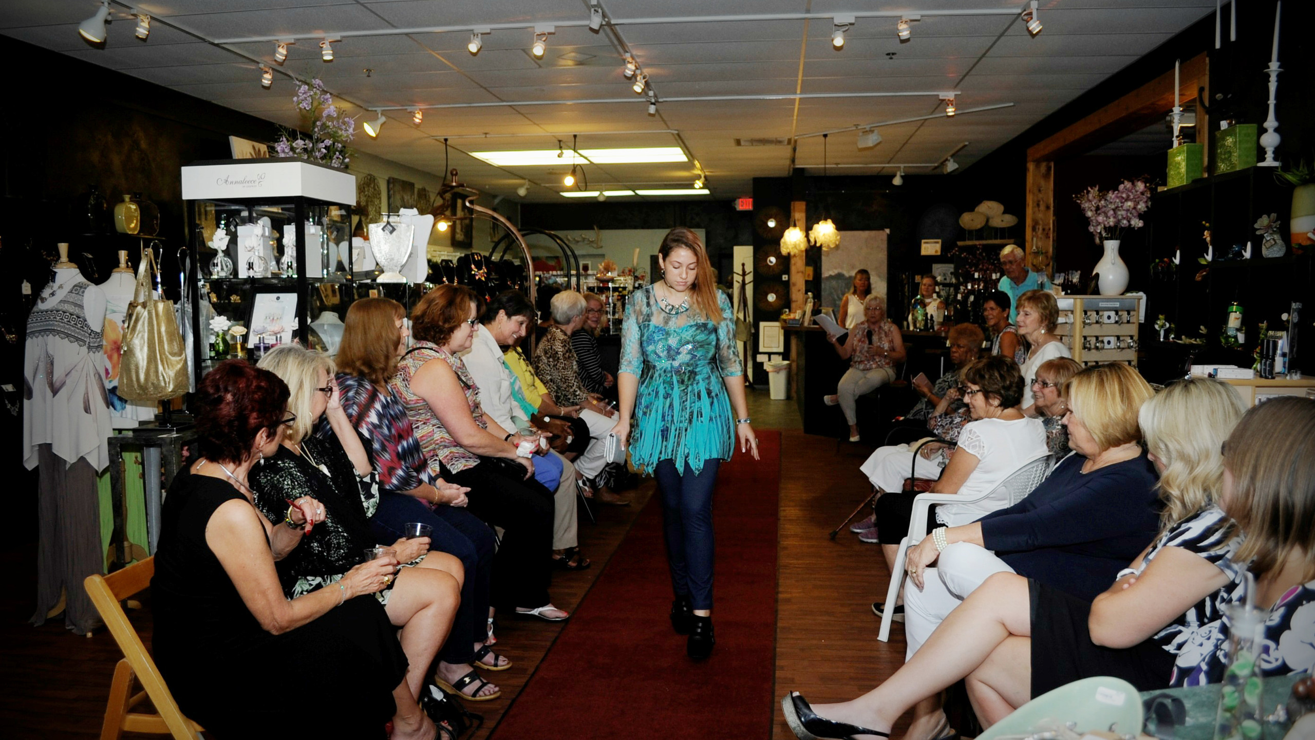 Chez Jacqueline & The Sheltering Tree fashion event in Palm Coast
