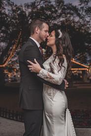 Nights of Lights Wedding Couple