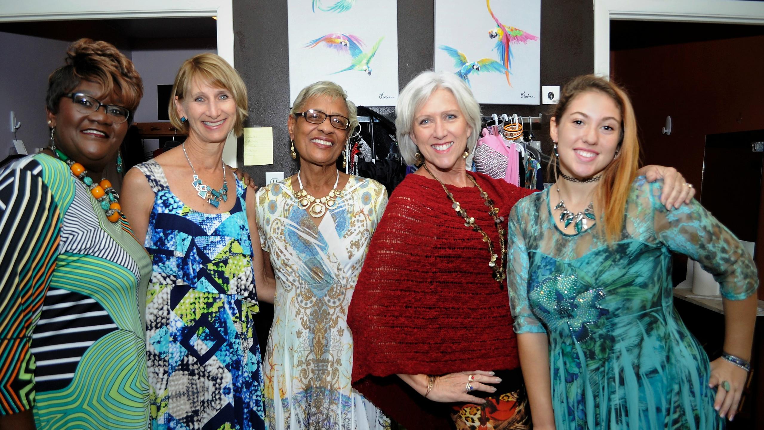 Palm Coast fashion show models