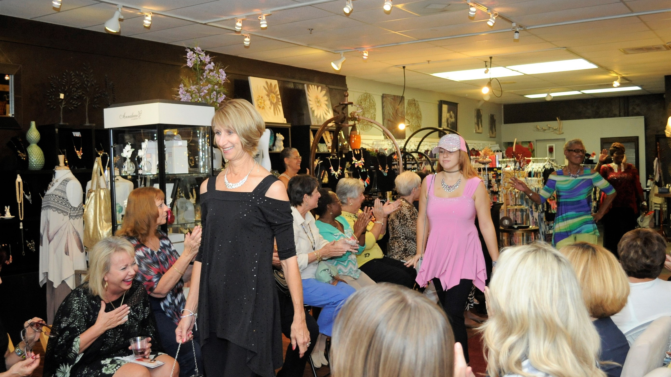 Fashion event at Chez Jacqueline Gift Shop in Palm Coast