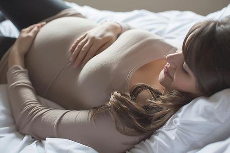 Femme enceinte Brown
