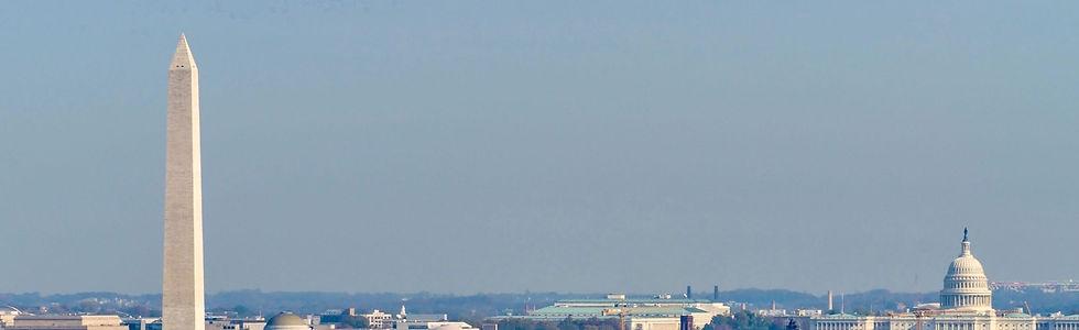 background image of washington dc skyline