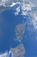 Vista di Sognu Corsica Corse