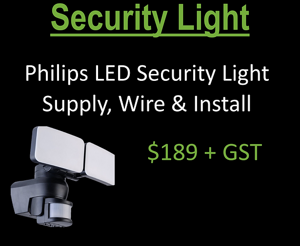 Secuirty light special
