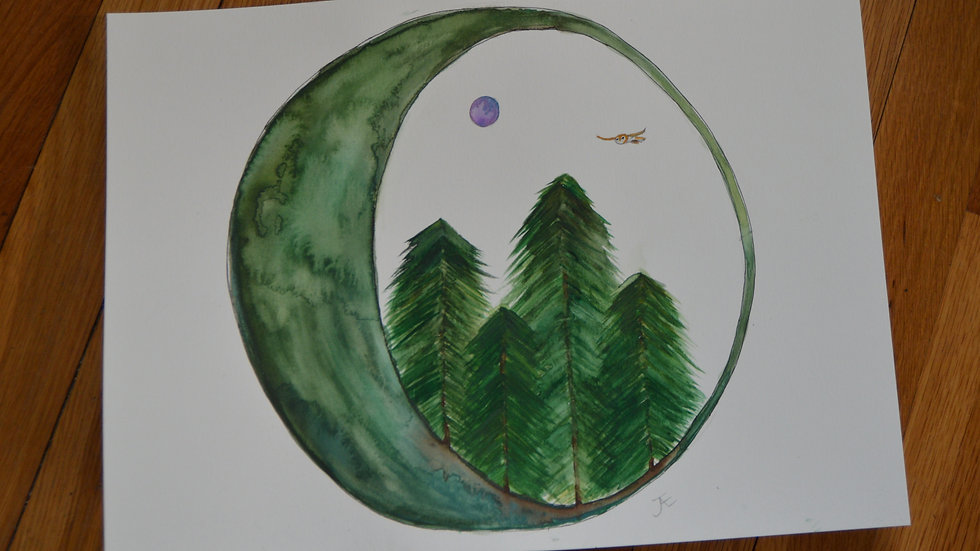 Moon Forest