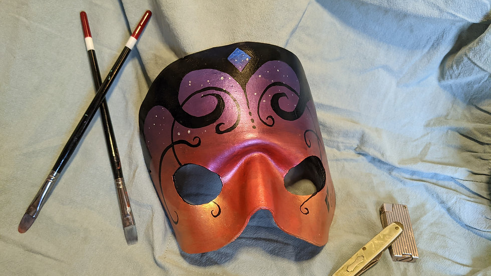 Simple round mask