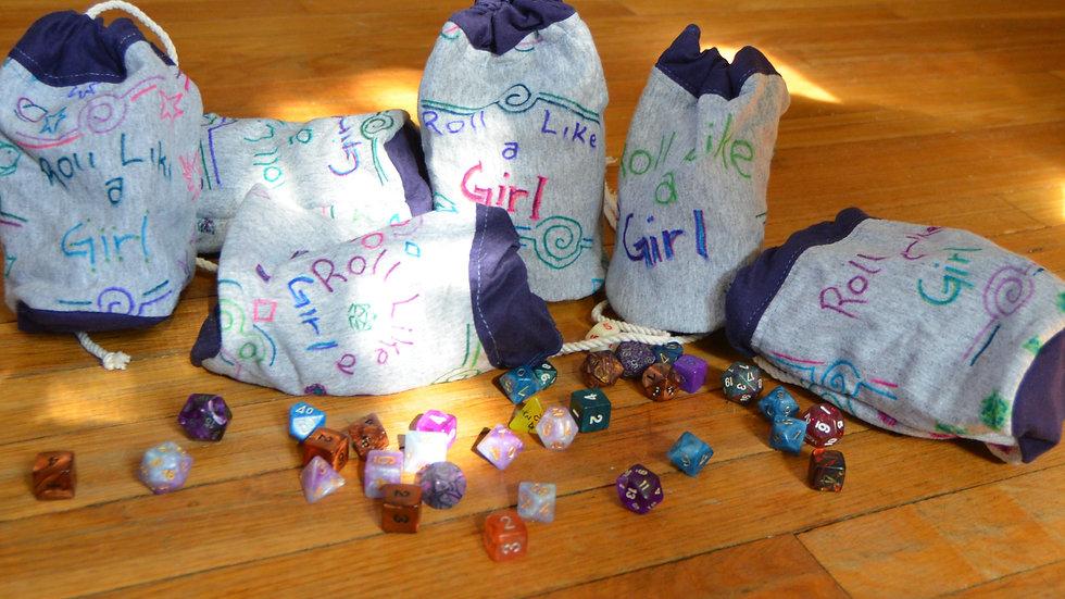Roll Like a Girl bag
