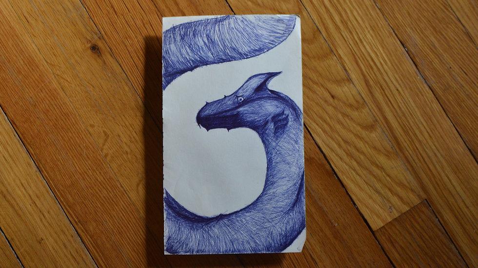 Serpent in Blue