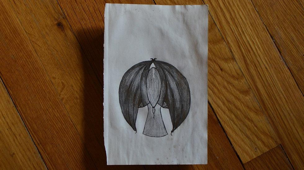 Bat Wings print