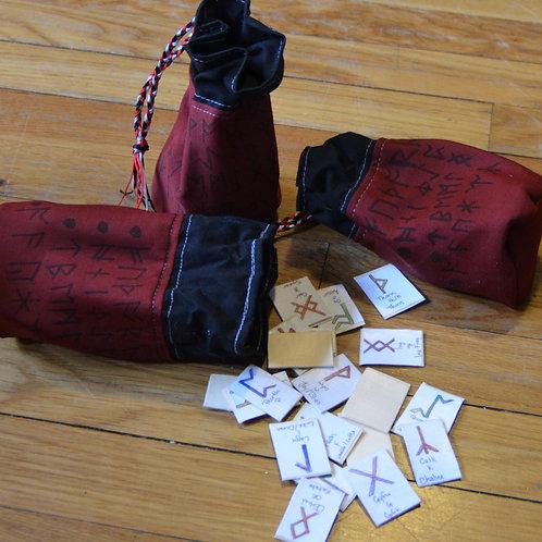 Rune set and Bag