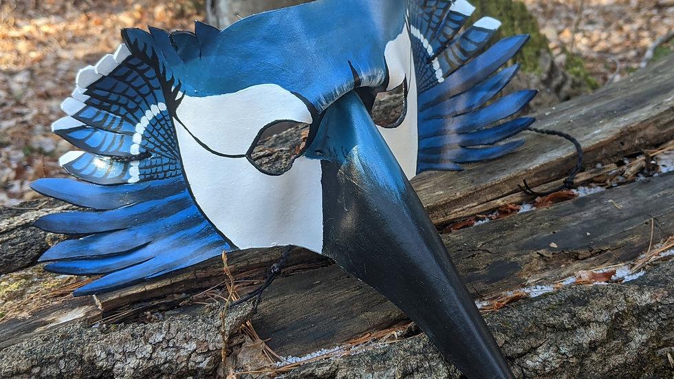 Blue Jay Mask