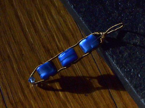 Blue Trio Pendant
