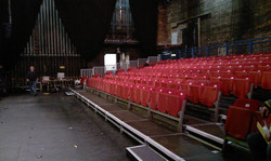 212 seat tiered seating for theatre