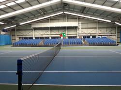300 tiered seats indoor tennis stand