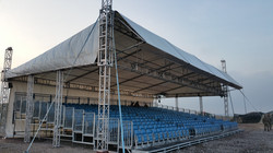 508 outdoor covered tiered seats