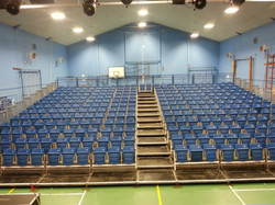 314 seat tiered seating system