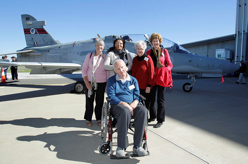 Rosebuds at RAAF Wiiliamtown for reunion C2011