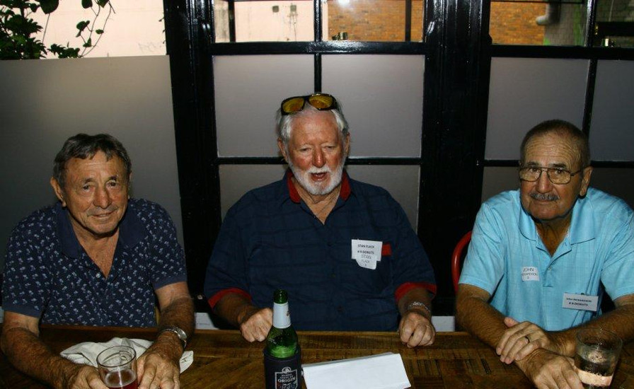 Col Phillips,  Stan Flack 9,  John Richardson 9.