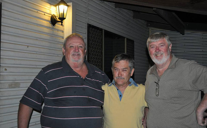 Peter Sloane, Gene Truan and Austin McDonald