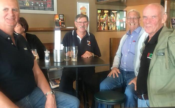 Steve Laughlin, Kevin Bartlett, Paul Fletcher and Byron Law