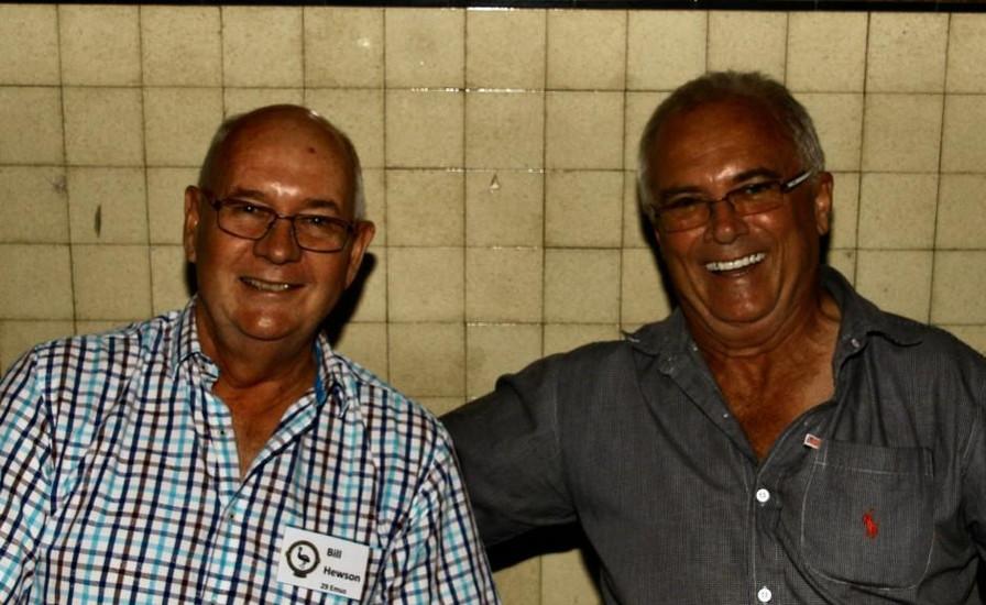 Bill Hewson 29,  Andy Gorton 32.