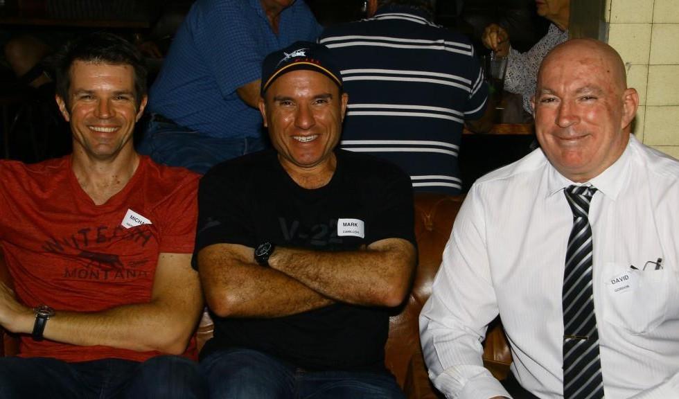 Michael Hardy (42),  Jason Lamont (42),