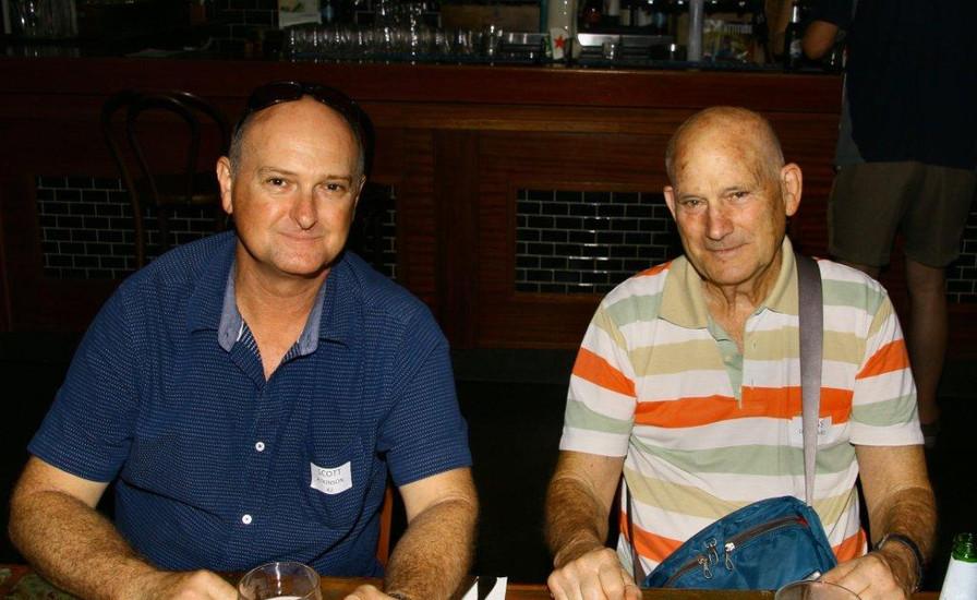 Scott Atkinson and Dags Dorward