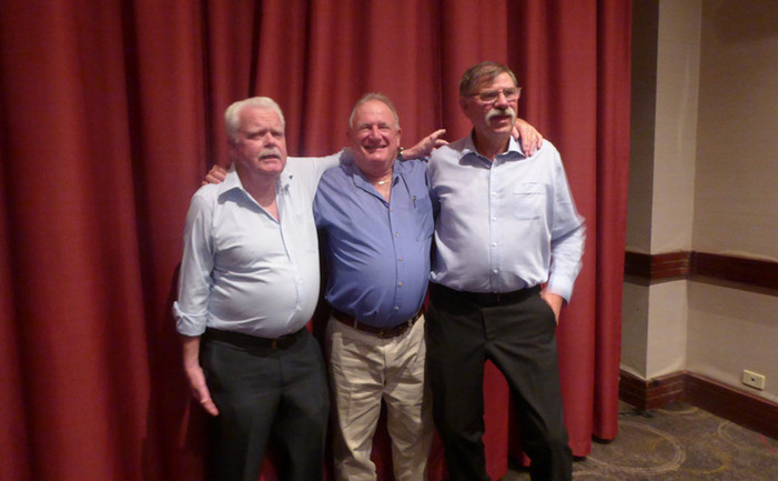 Russell Robertson, Norm Davenport and Kevin Bartlett