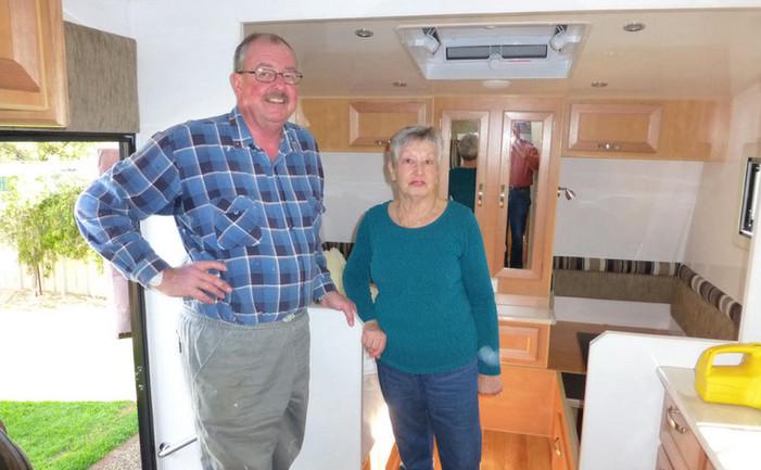 Tony And Barbara Hutchinson