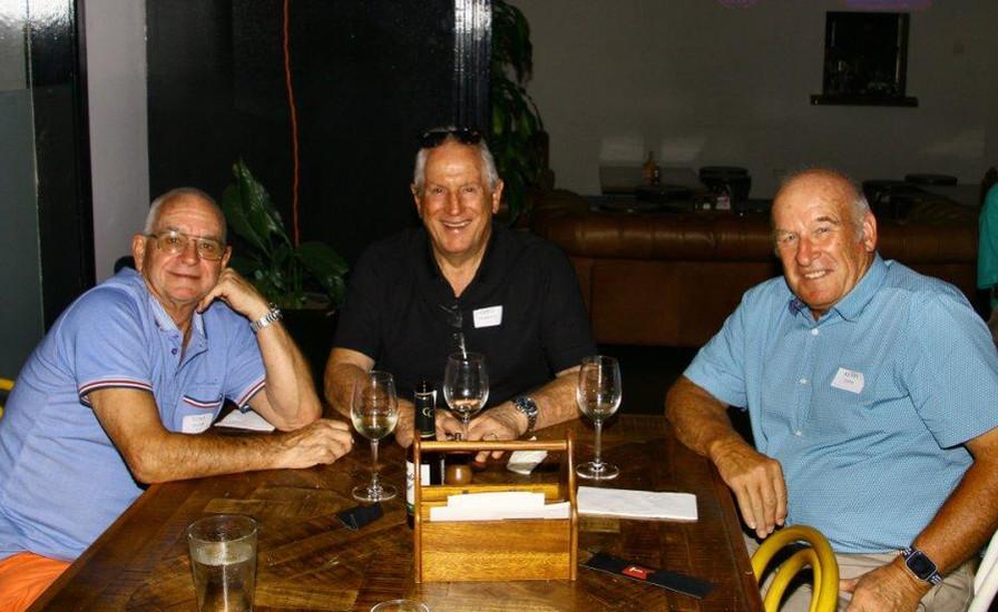 Tony Bevan,  Greg Roberts and Kerry C