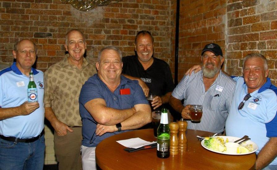 Mick Yarrow 31,  Ken Ford 31,  Ken Patterson,  Vic Schaumburg 31, Greg Lacey 31,  Mark Curlewis 31.