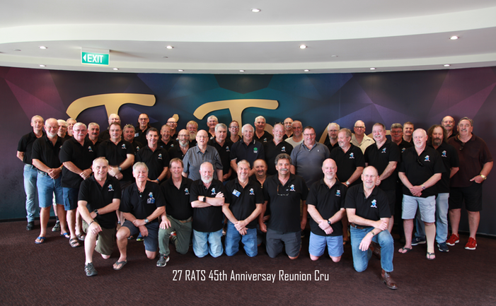 RATS 45th Reunion Coolangatta Oct 2018