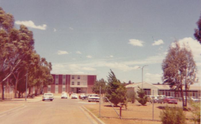 Apprentices Carpark C June 1974