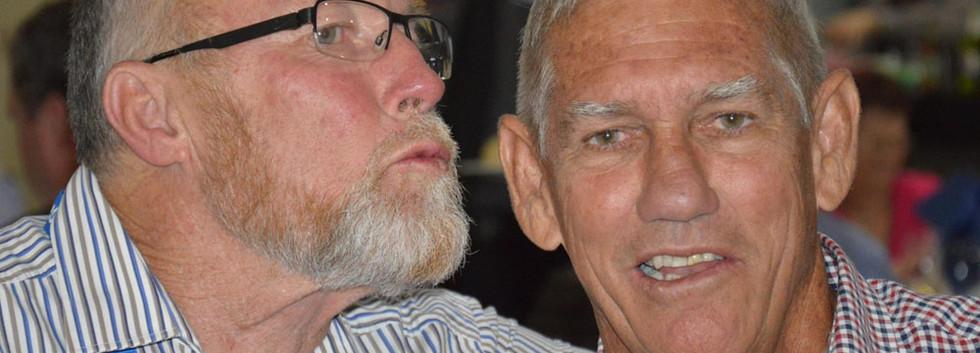 Geoff Crossingham and Paul Fletcher