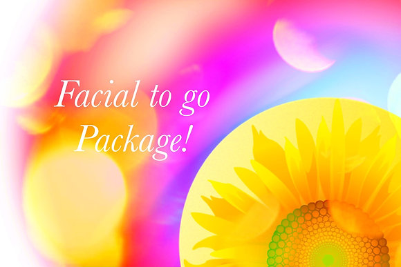 Facial to Go package!