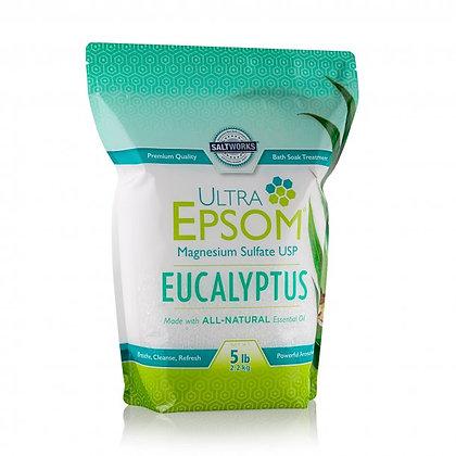 SCENTED USP GRADE BATH SALT Eucalyptus