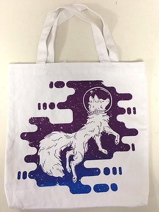 Astro The Space Fox Canvas Bag