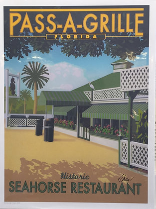 Pass-a-Grille FL, Seahorse Restaurant