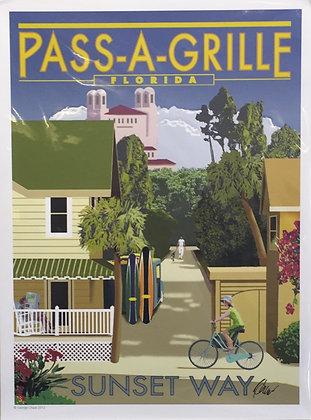 Pass-a-Grill FL, Sunset Way