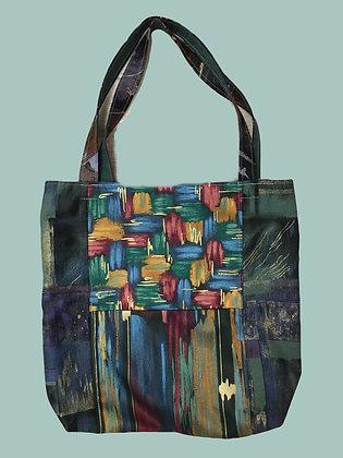 Gold Abstract Handbag