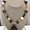 Thumbnail: Horn, Batick Resin, Wood, Jade and Agate Necklace