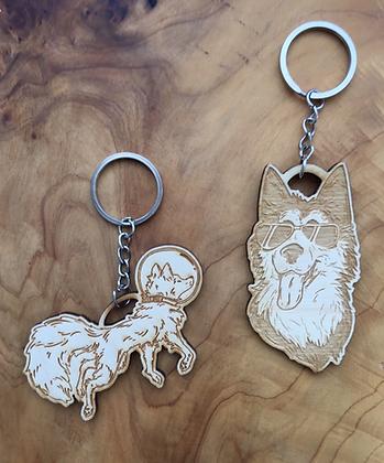 Fox Venture Keychains