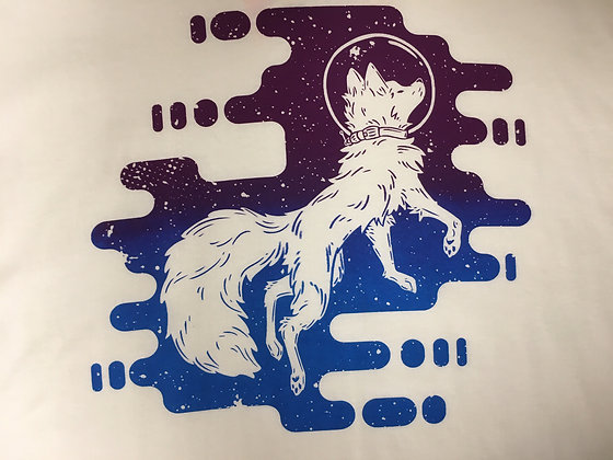Astro The Space Fox T-Shirt